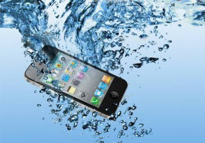 Phone-in-water